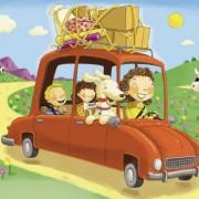 В літню подорож на авто